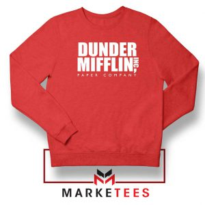 Dunder Mifflin Red Sweatshirt