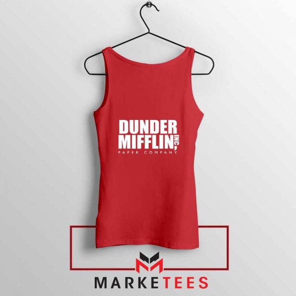 Dunder Mifflin Red Tank Top