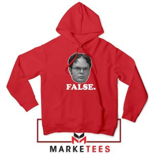Dwight Schrute False REd Hoodie