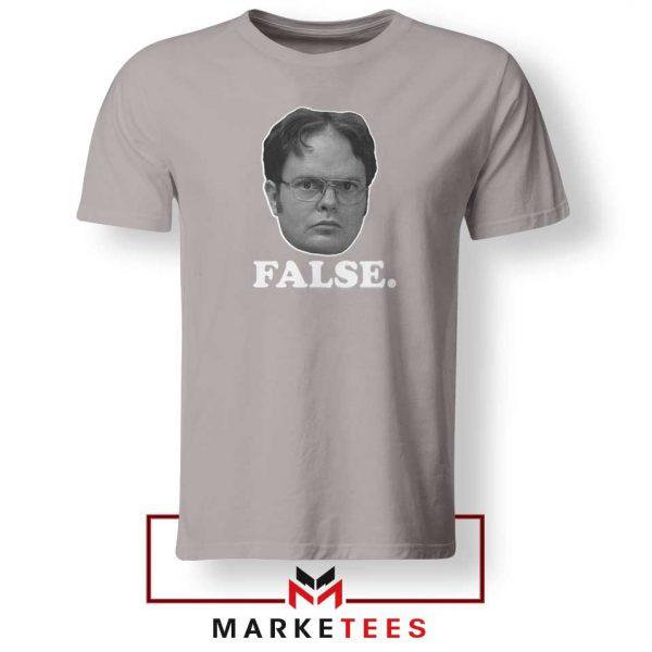 Dwight Schrute False Sport Grey Tshirt