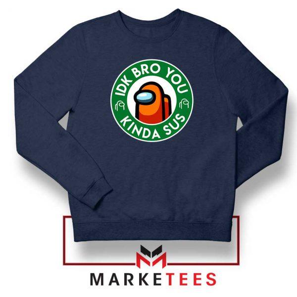 Impostor Coffee Navy Blue Sweatshirt