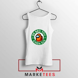 Impostor Coffee White Tank Top