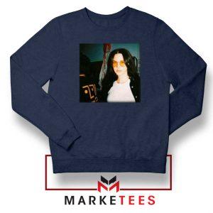 Lana Del Rey Singer Navy Blue Sweatshirt