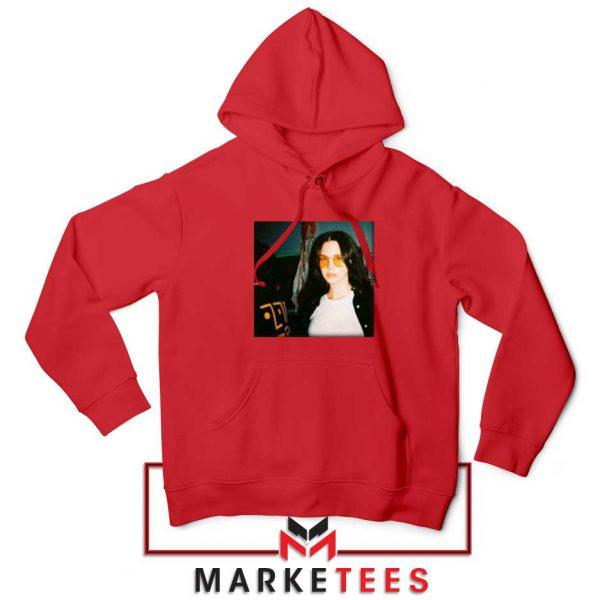 Lana Del Rey Singer Red Hoodie