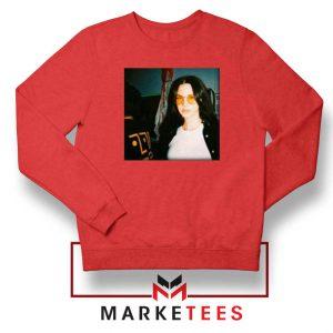 Lana Del Rey Singer Red Sweatshirt