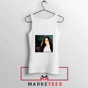 Lana Del Rey Singer White Tank Top