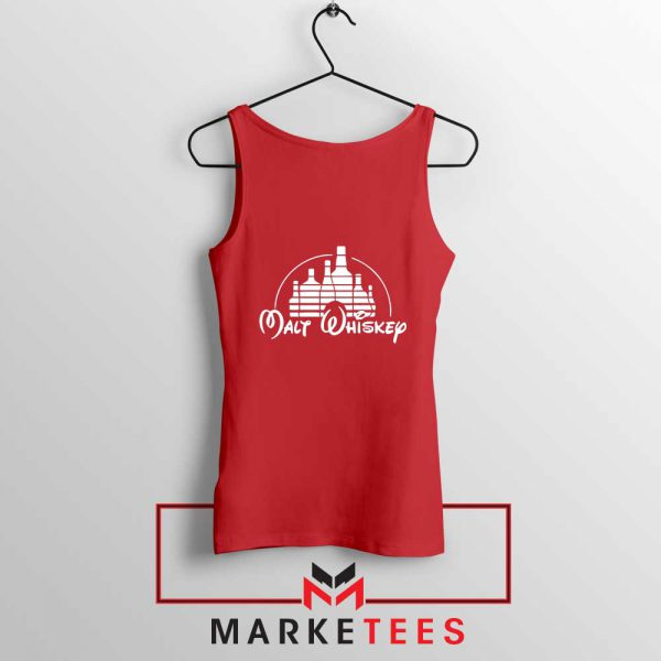 Malt Whiskey Red Tank Top