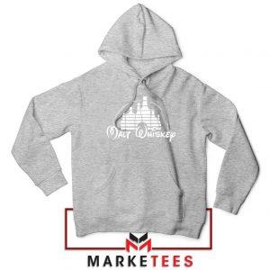 Malt Whiskey Sport Grey Hoodie