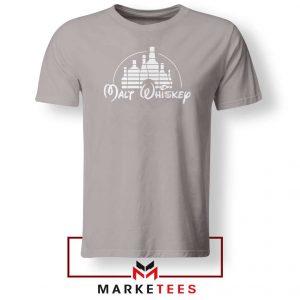 Malt Whiskey Sport Grey Tshirt