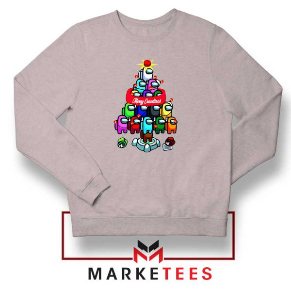 Merry Christmas Game Sport Grey Sweatshirt