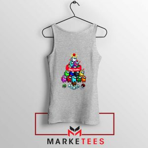 Merry Christmas Game Sport Grey Tank Top