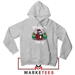 Santa Crewmate Sport Grey Hoodie