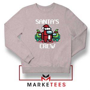 Santa Crewmate Sport Grey Sweatshirt