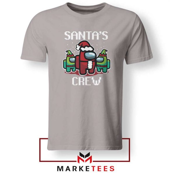Santa Crewmate Sport Grey Tshirt
