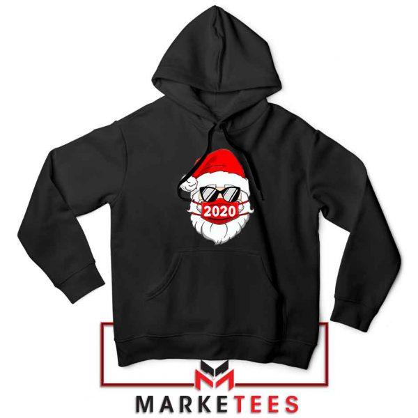 Santa Face Mask Hoodie