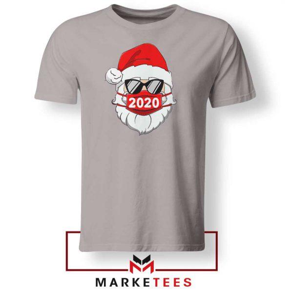 Santa Face Mask Sport Grey Tshirt