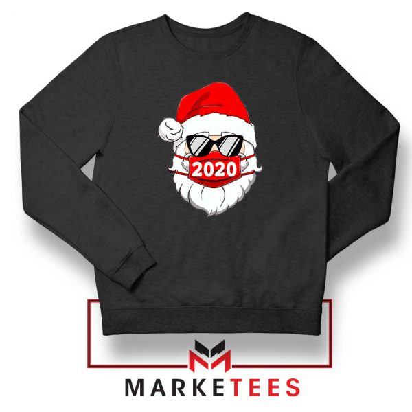Santa Face Mask Sweatshirt