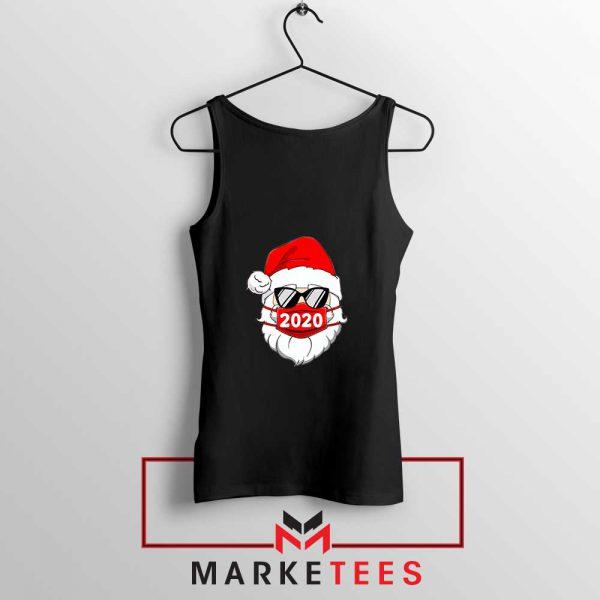 Santa Face Mask Tank Top