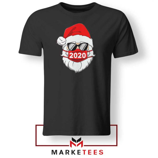 Santa Face Mask Tshirt