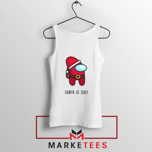 Santa Is Sus Game Tank Top