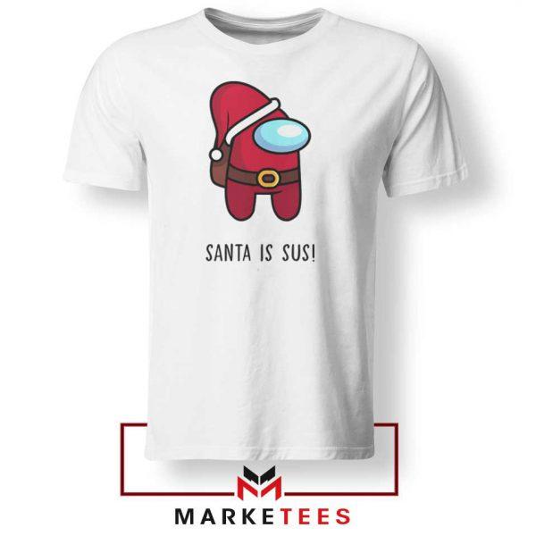 Santa Is Sus Game Tshirt