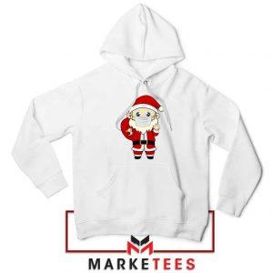 Santa With Mask Hoodie