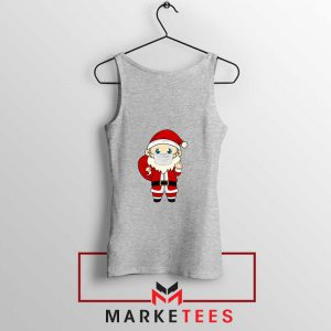 Santa With Mask Sport Grey Tank Top