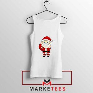 Santa With Mask Tank Top