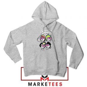 Skull Band 5SOS Sport Grey Hoodie