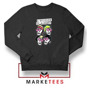 Skull Band 5SOS Sweatshirt