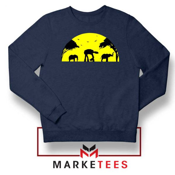 Star Wars Elephant Empire Navy Blue Sweatshirt