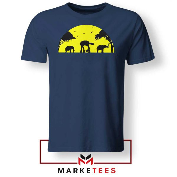 Star Wars Elephant Empire Navy Blue Tshirt