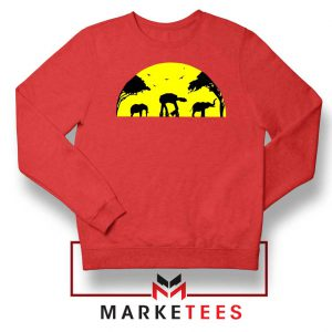 Star Wars Elephant Empire Red Sweatshirt
