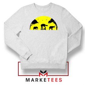 Star Wars Elephant Empire White Sweatshirt