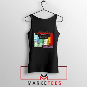Star Wars Periodic Table Tank Top