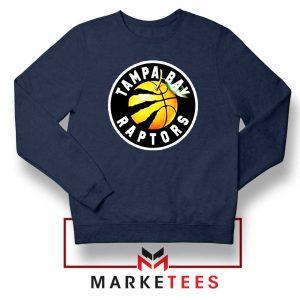 Tampa Bay Raptors Team Navy Blue Sweatshirt