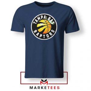 Tampa Bay Raptors Team Navy Blue Tshirt