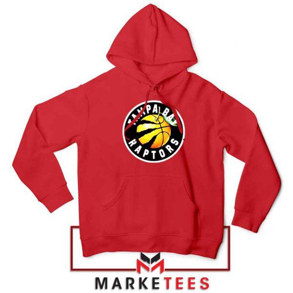 Tampa Bay Raptors Team Red Hoodie