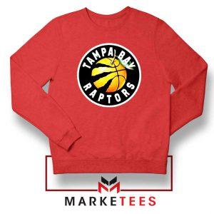 Tampa Bay Raptors Team Red Sweatshirt