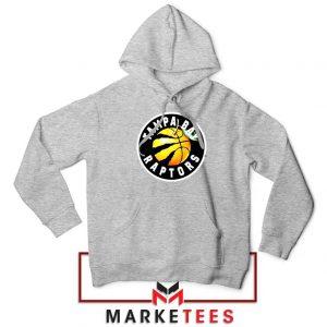 Tampa Bay Raptors Team Sport Grey Hoodie