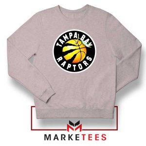 Tampa Bay Raptors Team Sport Grey Sweatshirt
