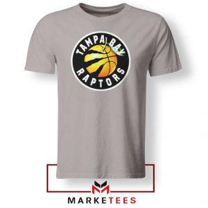 Tampa Bay Raptors Team Sport Grey Tshirt