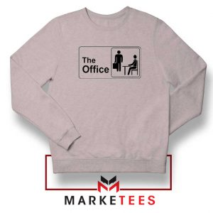 The Office Logo Movie Sport Grey Sweatshirt