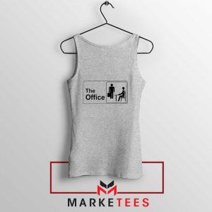 The Office Logo Movie Sport Grey Tank Top