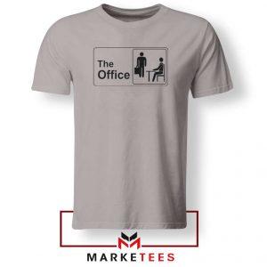 The Office Logo Movie Sport Grey Tshirt