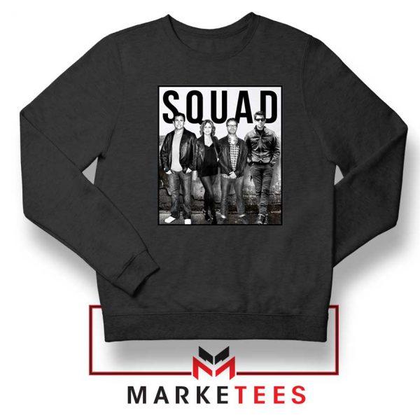 The Office Squad Black Sweatshirt