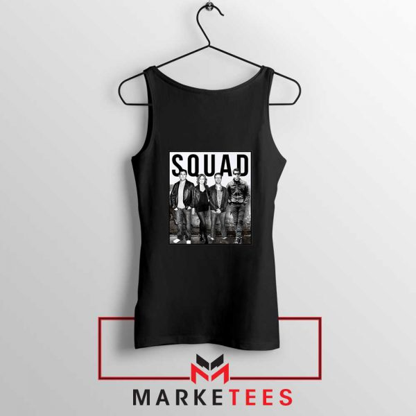 The Office Squad Black Tank Top