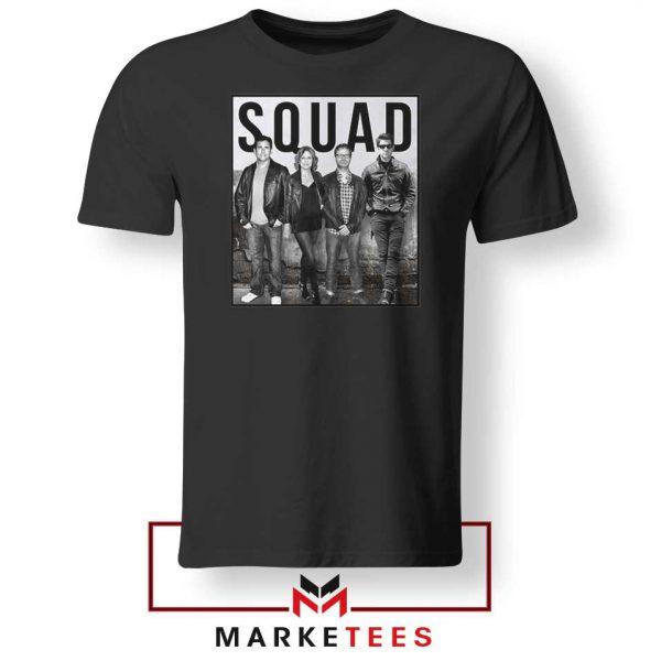The Office Squad Black Tshirt