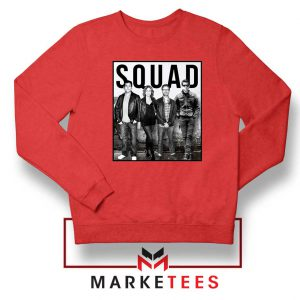 The Office Squad Red Sweatshirt