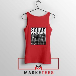 The Office Squad Red Tank Top